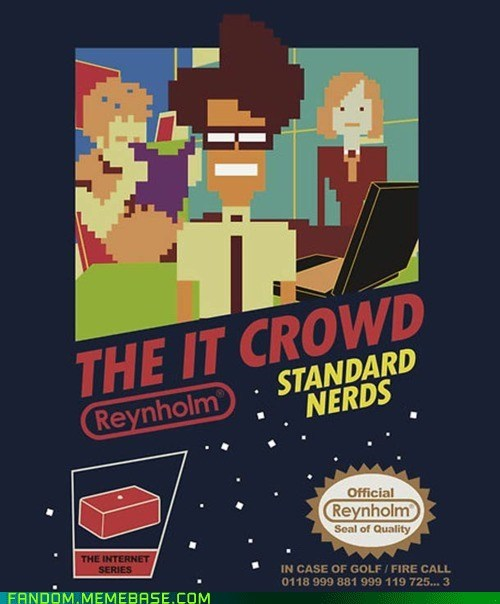 best of week Fan Art the IT crowd TV video games - 5968632064