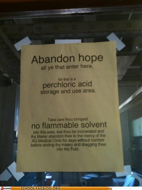 abandon hope no flammable solvent ye olde english - 5968880640
