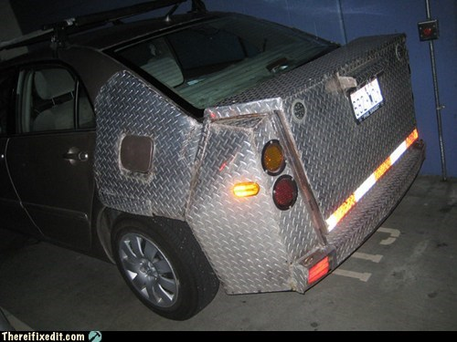 car fail,trunk
