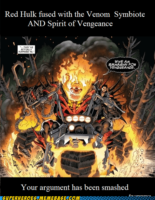 ghost rider red hulk Super-Lols Venom - 5969660160