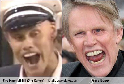 actor,celeb,fire marshal bill,funny,gary busey,Hall of Fame,jim carrey,TLL