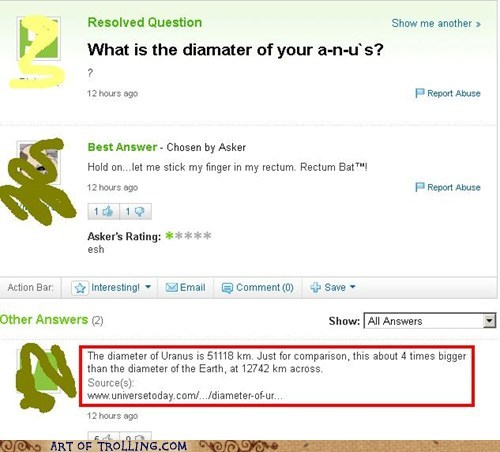 science that sounds naughty uranus Yahoo Answer Fails - 5970407680