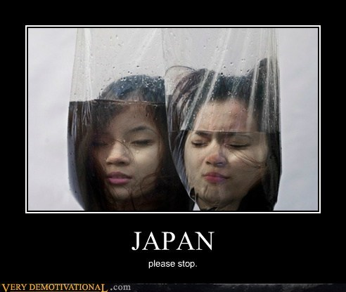 bizarre,Japan,ladies,Terrifying,water,wtf