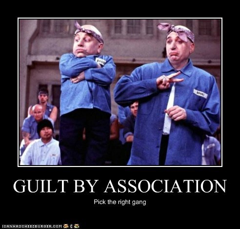 GUILT BY ASSOCIATION Pick the right gang