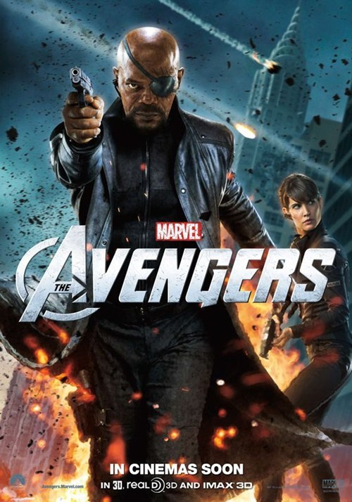 Cobie Smulders maria hill movies posters The Avengers