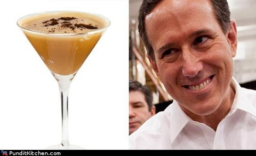 cocktails,political pictures,Republicans,Rick Santorum