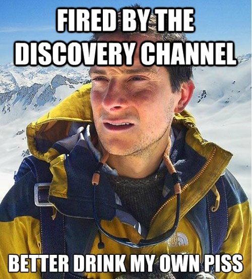 bear grylls,discovery channel,End Of An Era,man vs wild
