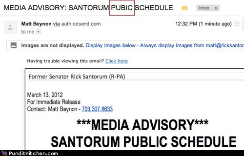FAIL oops political pictures Rick Santorum - 5971578112