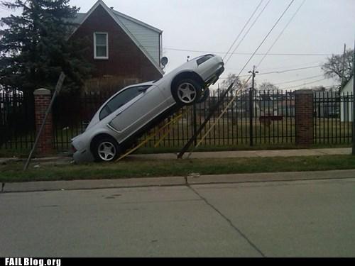cars crash mustang wtf - 5971651328