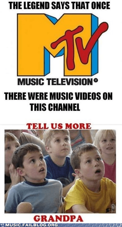 Grandpa,mtv,music videos,old