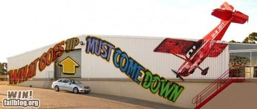 airplane graffiti hacked irl Street Art - 5971901696