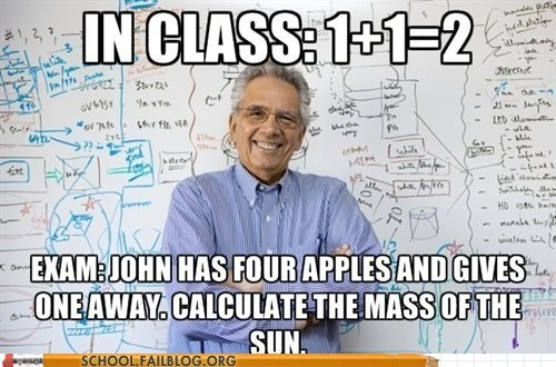 calculate the sun,exam,in class,the difference
