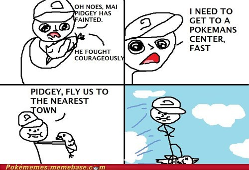 best of week comic fainted pidgey Pokémans pokemon center - 5972150272