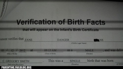 birth certificate danger - 5972218112
