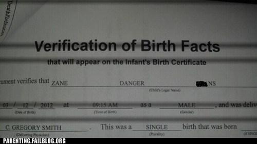 birth certificate danger - 5972218112