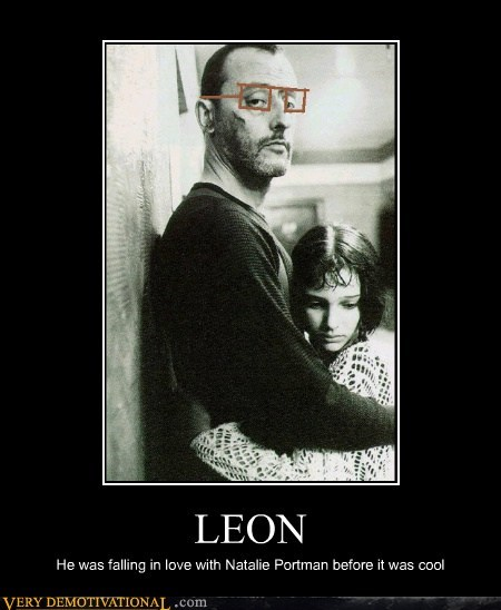 LEON He was falling in love with Natalie Portman before it was cool