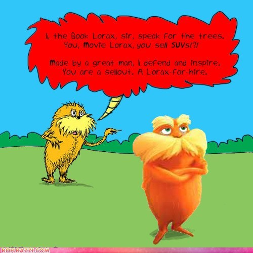 art dr seuss funny illustration lorax truth - 5972362496