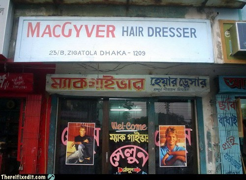 hairdresser india macgyver