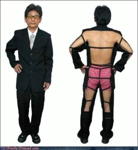 good time g rated Japan japanese no back Party poorly dressed suit - 5972429568