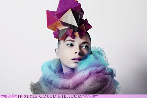 cool accessories geometry hair hats polygons - 5972643840