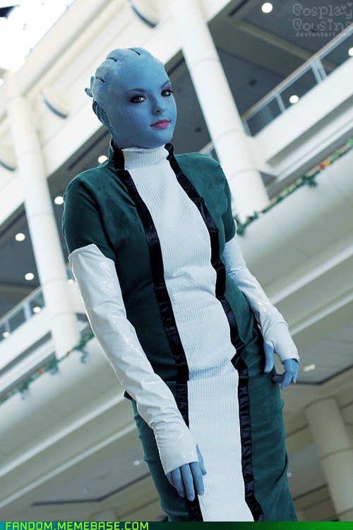 asari cosplay mass effect video games - 5972657408