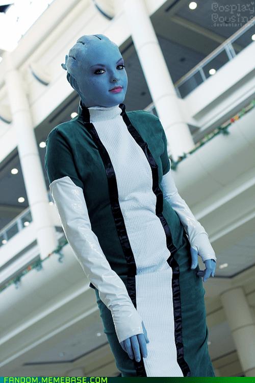 asari cosplay mass effect video games - 5972657408
