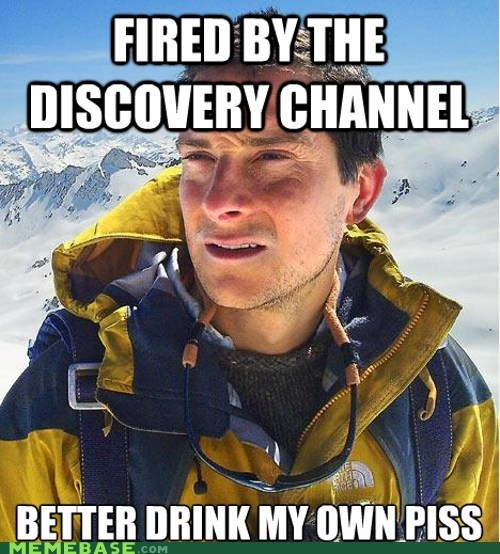 bear grylls,discovery channel,gig,news