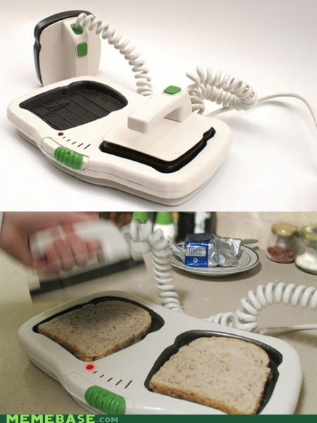 It Came From the Interwebz paramedic toast toaster - 5973037824