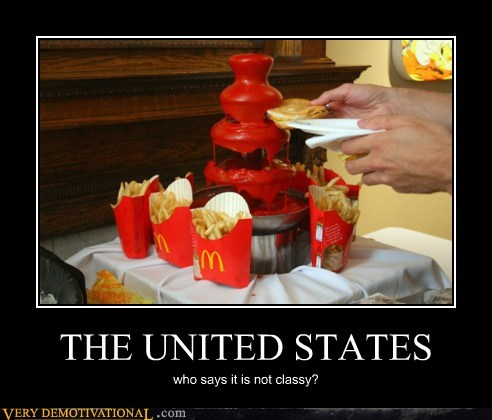 classy,eww,fountain,McDonald's,Terrifying,us