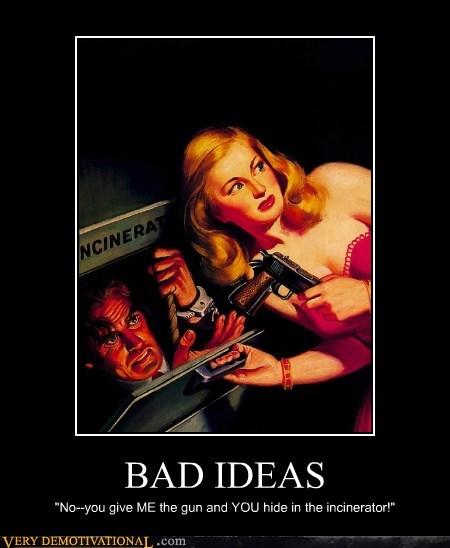 bad idea gun hilarious wtf - 5973829376