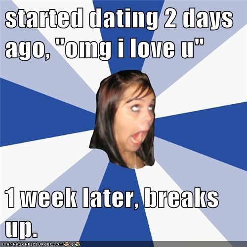 Started dating after a week