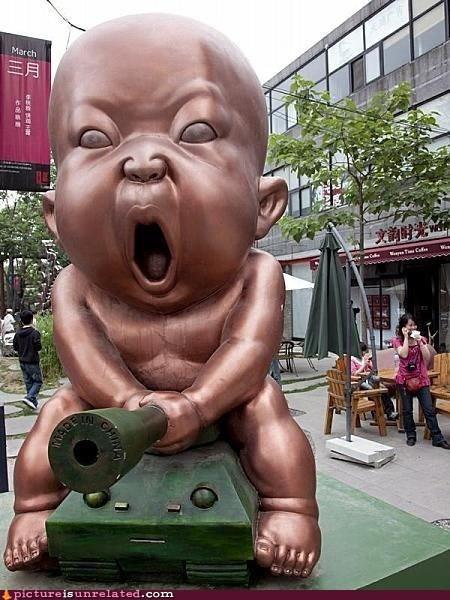 baby i have the weirdest boner statue wtf - 5973869568