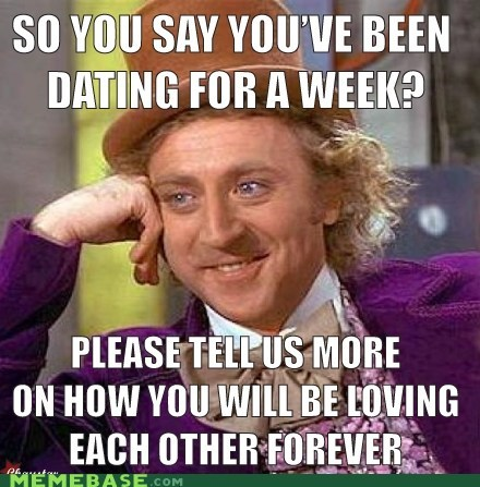 dating,forever,kids,love,Memes,Willy Wonka