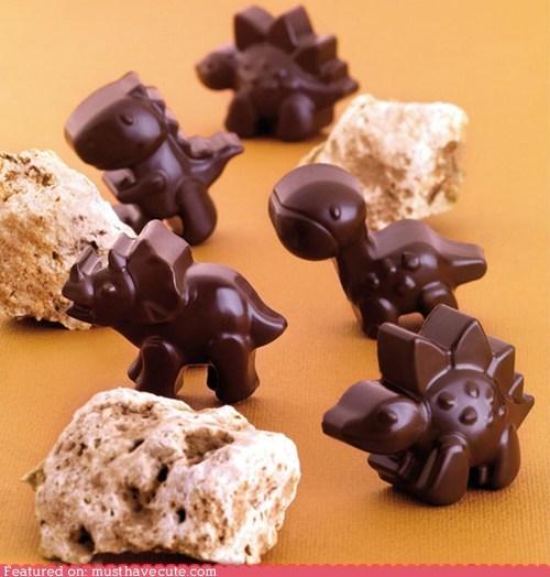 Chocolate Dinosaur Molds