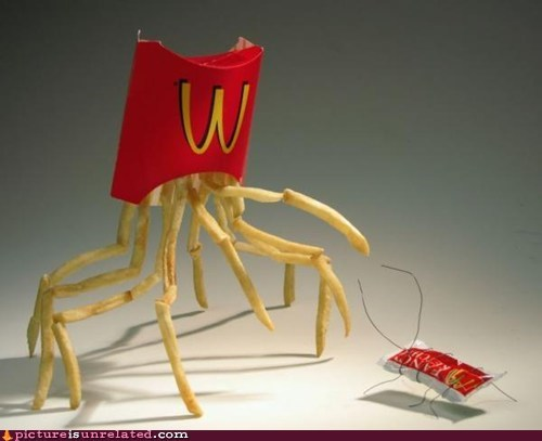 best of week,french fries,ketchup,McDonald's,wtf