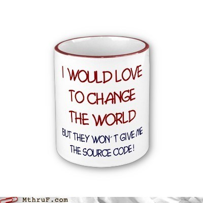 change,changing the world,source code