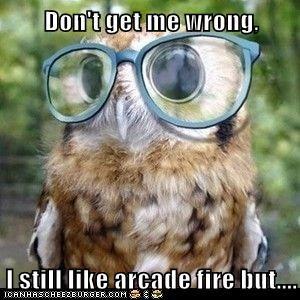 band critic glasses Music nerd Owl talk - 5974895616