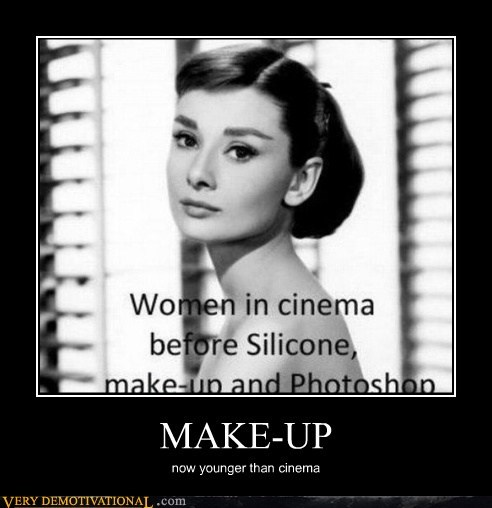 cinema,idiots,makeup,photoshop