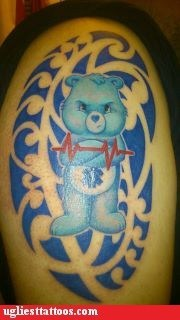 care bears,crash cart,ekg
