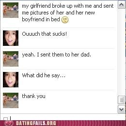 facebook chat parents found out ultimate trolling