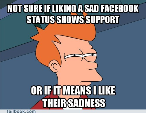 failbook Futurama Fry g rated liking meme - 5976004608