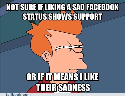 failbook Futurama Fry g rated liking meme - 5976004608