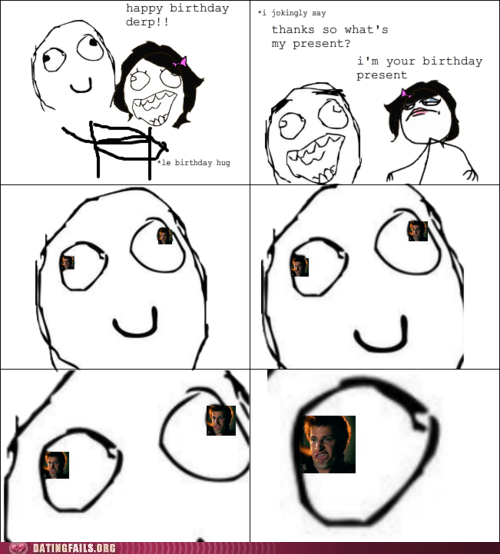 birthday present,birthday sex,Rage Comics