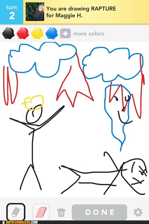 draw something faith religion the rapture