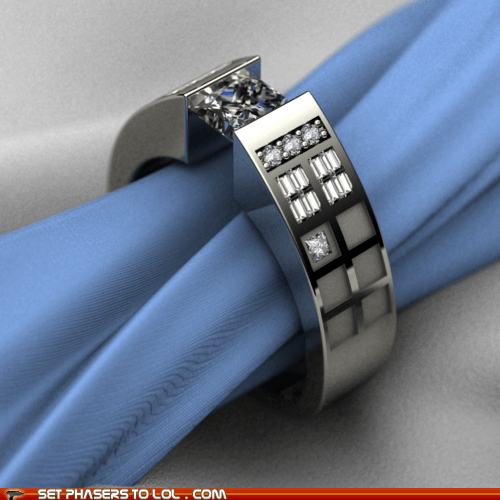 best of the week doctor who engagement ring tardis weddings - 5976256768