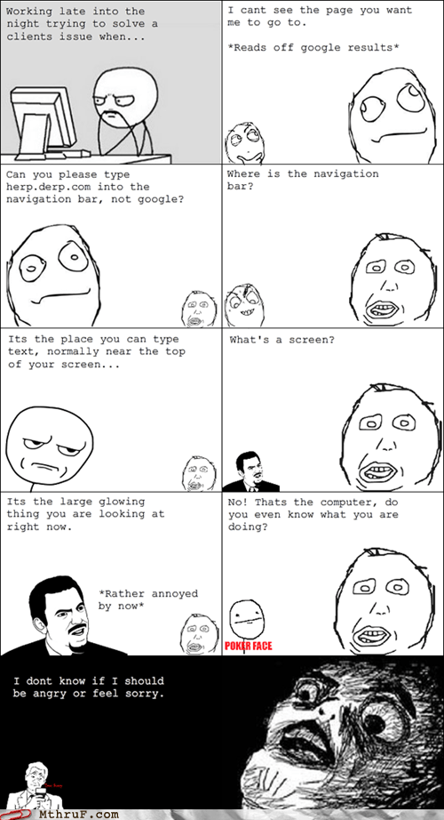 computer computer tech support Hall of Fame rage comic tech support