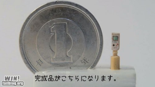 carving,coin,gameboy,toothpick