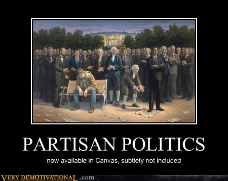 hilarious painting politics subtle usa