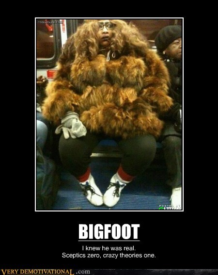 bigfoot,hilarious,real,skeptic,wtf