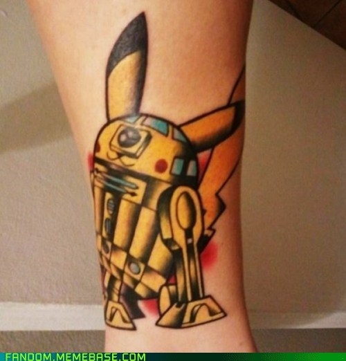 body modification Fan Art Pokémon scifi star wars tattoo - 5977294336